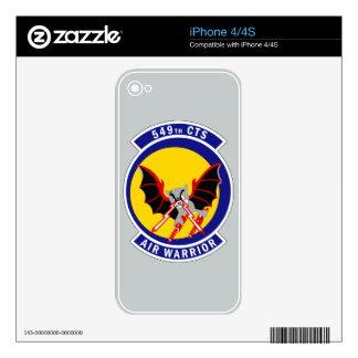 549th Combat Training Squadron - Air Warrior iPhone 4S Skin