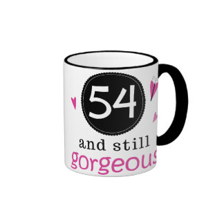 54 And Still Gorgeous Birthday Gift Idea For Her Coffee Mug
