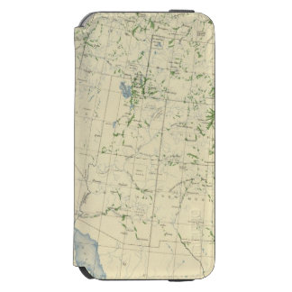 54 Areas irrigated 1889 iPhone 6/6s Wallet Case