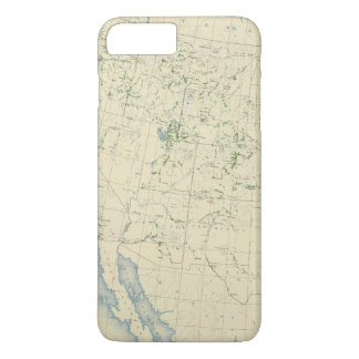54 Areas irrigated 1889 iPhone 7 Plus Case
