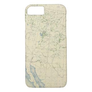 54 Areas irrigated 1889 iPhone 8/7 Case