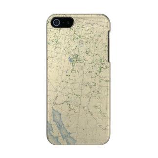 54 Areas irrigated 1889 Metallic iPhone SE/5/5s Case