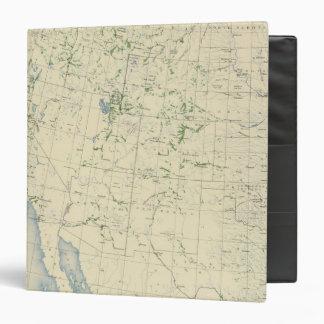 54 Areas irrigated 1889 Vinyl Binder