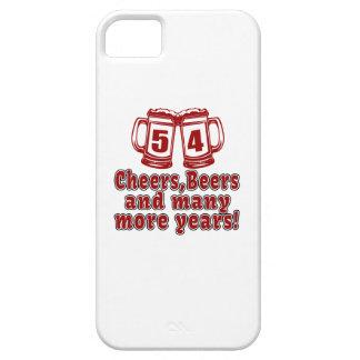 54 Cheers Beer Birthday iPhone SE/5/5s Case