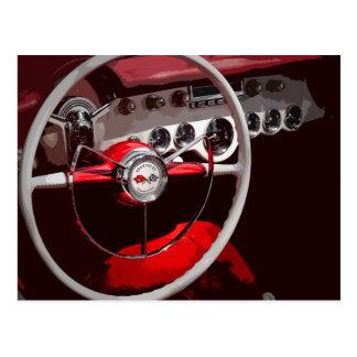 '54 Corvette Postcard