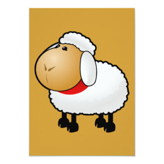 54-Free-Cartoon-Sheep-Clipart-Illustration Card