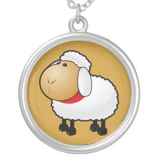 54-Free-Cartoon-Sheep-Clipart-Illustration Colgante Redondo