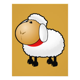 54-Free-Cartoon-Sheep-Clipart-Illustration Flyer