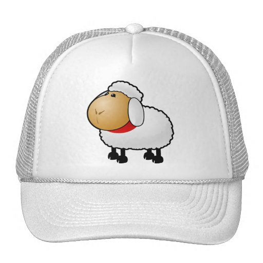 54-Free-Cartoon-Sheep-Clipart-Illustration Gorro De Camionero