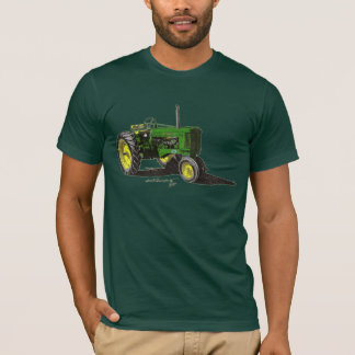 '54 JD 50 Tractor Color T-Shirt