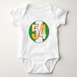 54 NIGERIA Gold Baby Bodysuit
