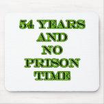 54 ninguna hora de prisión alfombrillas de ratones