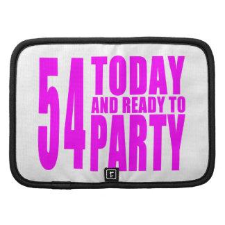54.os cumpleaños de los chicas: 54 hoy y aliste organizador