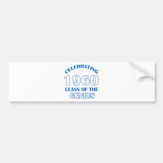 54 years Old birthday designs Bumper Sticker