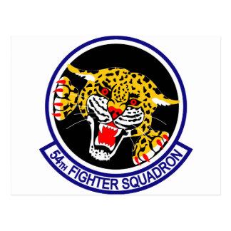 54th Fighter Squadron Postcard