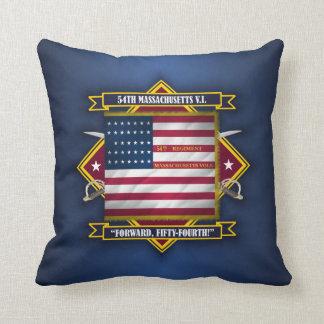 54th Massachusetts V.I. Throw Pillow