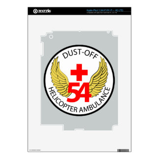 54th Medical Detachment - Dust-Off - Helicopter Am iPad 3 Decal