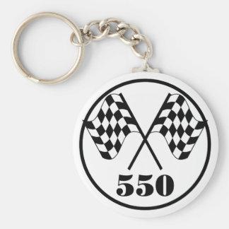 550 Checkered Flags Key Chains
