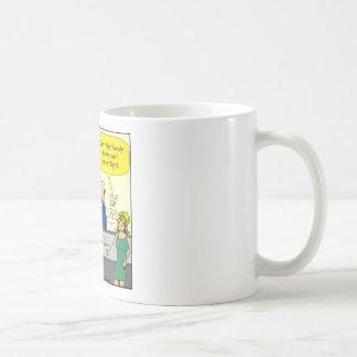 550 diamond wedding ring cartoon coffee mug