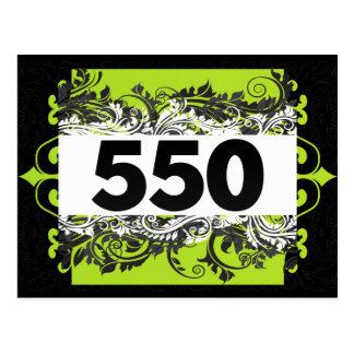 550 POSTCARD