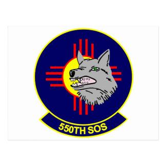 550th SOS Postcard