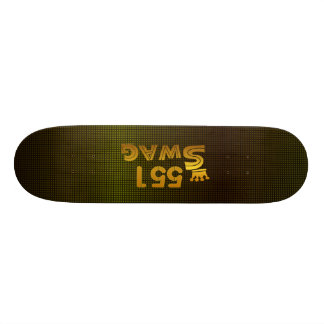 551 Area Code Swag Skateboard