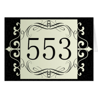 553 Area Code Greeting Cards