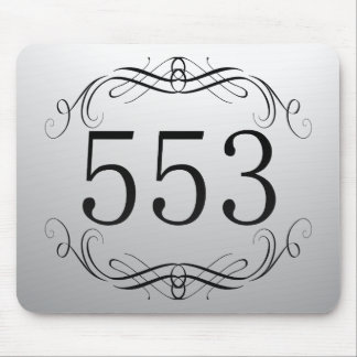 553 Area Code Mousepads