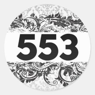 553 STICKERS