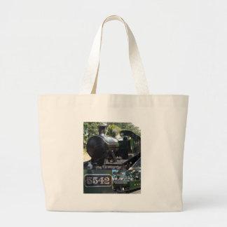 5542 Steam Locomotive Large Tote Bag