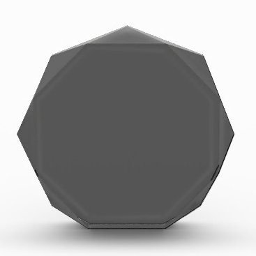 Professional Business #555555 Hex Code Web Color Dark Gray Grey Business Acrylic Award