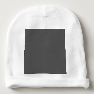 Professional Business #555555 Hex Code Web Color Dark Gray Grey Business Baby Beanie