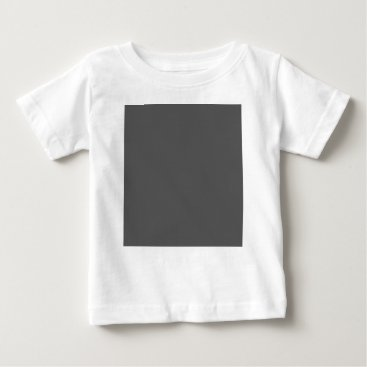 Professional Business #555555 Hex Code Web Color Dark Gray Grey Business Baby T-Shirt