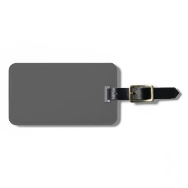 Professional Business #555555 Hex Code Web Color Dark Gray Grey Business Bag Tag