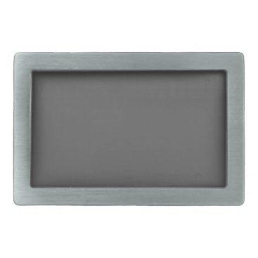 Professional Business #555555 Hex Code Web Color Dark Gray Grey Business Belt Buckle