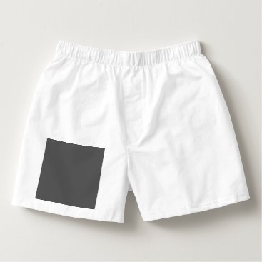 Professional Business #555555 Hex Code Web Color Dark Gray Grey Business Boxers