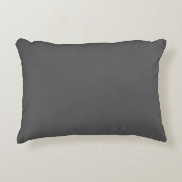 Professional Business #555555 Hex Code Web Color Dark Gray Grey Business Decorative Pillow