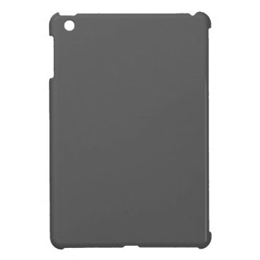 Professional Business #555555 Hex Code Web Color Dark Gray Grey Business iPad Mini Case