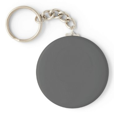 Professional Business #555555 Hex Code Web Color Dark Gray Grey Business Keychain