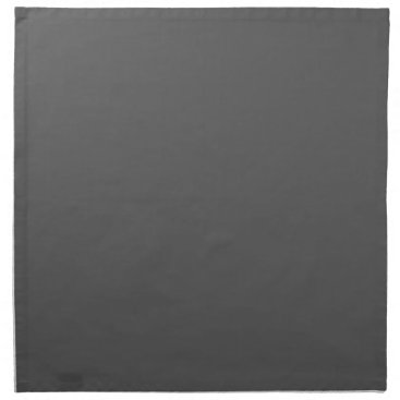 Professional Business #555555 Hex Code Web Color Dark Gray Grey Business Napkin