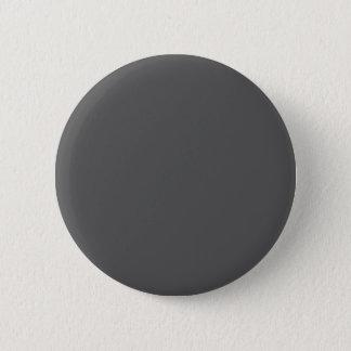 #555555 Hex Code Web Color Dark Gray Grey Business Pinback Button