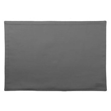 Professional Business #555555 Hex Code Web Color Dark Gray Grey Business Placemat