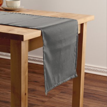 Professional Business #555555 Hex Code Web Color Dark Gray Grey Business Short Table Runner
