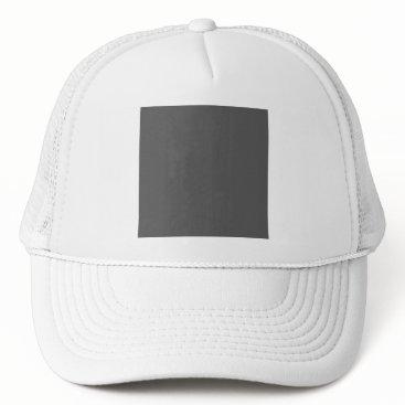 Professional Business #555555 Hex Code Web Color Dark Gray Grey Business Trucker Hat