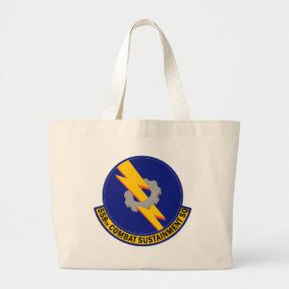 558th Combat Sustainment Squadron Large Tote Bag