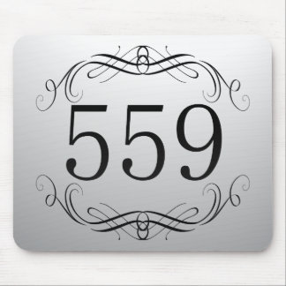 559 Area Code Mousepad