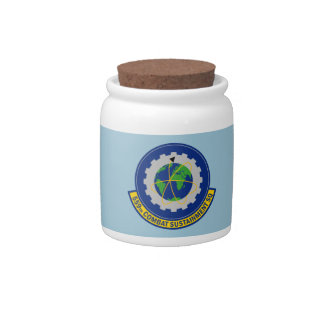559th Combat Sustainment Squadron Candy Jars