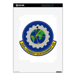 559th Combat Sustainment Squadron iPad 2 Decal