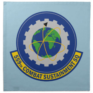 559th Combat Sustainment Squadron Napkin