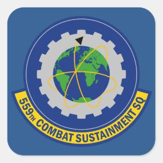 559th Combat Sustainment Squadron Square Sticker